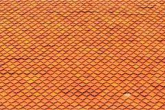 Oranje daktegels Royalty-vrije Stock Foto's