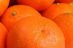 Oranje dalingen Stock Fotografie
