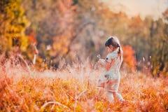 Oranje de herfstdag