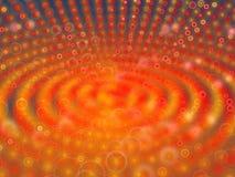 Oranje de oppervlakteachtergrond van de halloring Stock Afbeelding