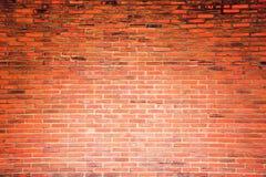 Oranje de textuurachtergrond van de grungebakstenen muur Stock Afbeeldingen