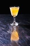 Oranje de zomer recreatieve cocktail Stock Afbeeldingen