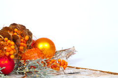 Oranje decoratie Royalty-vrije Stock Foto's