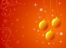 Oranje Decoratie Royalty-vrije Stock Afbeeldingen