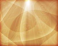 Oranje Desktopbehang Stock Afbeelding