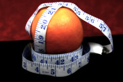Oranje Dieet stock foto's