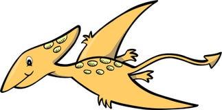 Oranje Dinosaurus Royalty-vrije Stock Foto's