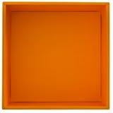 Oranje doos Royalty-vrije Stock Fotografie