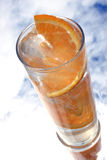 Oranje Drank stock afbeeldingen