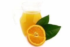 Oranje dranken royalty-vrije stock afbeeldingen