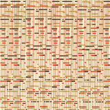 Oranje en Bruine Retro Achtergrond royalty-vrije stock afbeelding
