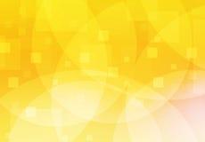 Oranje en gele achtergrond van samenvatting stock illustratie