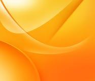 Oranje en gele vormen Royalty-vrije Stock Afbeeldingen