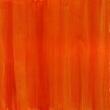 Oranje en rode waterverfachtergrond Stock Foto