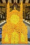 Oranje festival in Soller Stock Foto's