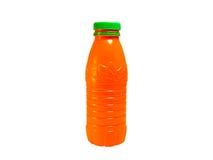Oranje fles Royalty-vrije Stock Afbeelding
