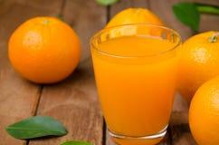 Oranje fruit en sap Royalty-vrije Stock Foto