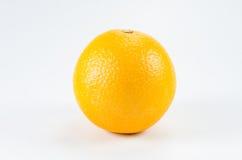 Oranje fruit op wit Royalty-vrije Stock Afbeeldingen