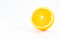 Oranje fruit op wit Royalty-vrije Stock Fotografie