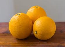 Oranje fruit voor gezond en vitamine C Stock Fotografie