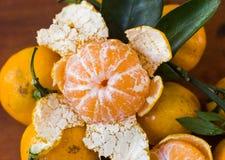 Oranje fruit voor gezond en vitamine C Royalty-vrije Stock Fotografie