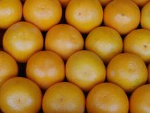 Oranje fruitachtergrond royalty-vrije stock foto