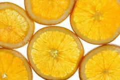 Oranje fruitachtergrond Royalty-vrije Stock Fotografie
