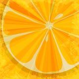 Oranje fruitachtergrond Stock Foto