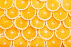 Oranje fruitachtergrond De zomersinaasappelen Gezond