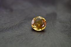 Oranje gem Royalty-vrije Stock Afbeeldingen