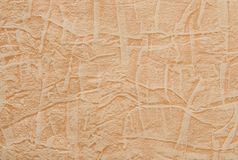 Oranje geweven document Royalty-vrije Stock Foto
