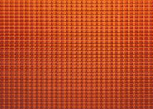 Oranje Glas Royalty-vrije Stock Foto's
