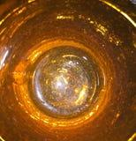 Oranje Glas royalty-vrije stock foto