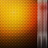 Oranje gloeiende mozaïek abstracte achtergrond Royalty-vrije Stock Foto's