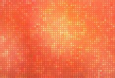 Oranje gloeiende punten Royalty-vrije Stock Fotografie