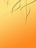 Oranje golf Royalty-vrije Stock Afbeeldingen