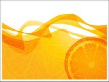 Oranje golf Royalty-vrije Stock Fotografie