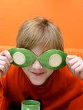 Oranje grap Stock Foto