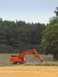 Oranje graver Stock Foto