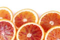 Oranje grens Royalty-vrije Stock Foto's