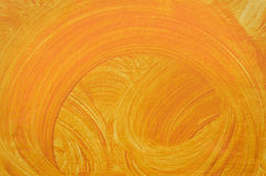 Oranje Grunge-Achtergrond Stock Foto