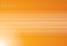 Oranje halftone achtergrond Royalty-vrije Stock Afbeelding