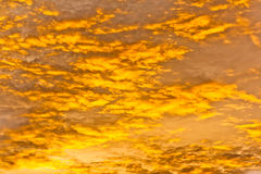 Oranje hemeltextuur als achtergrond Stock Foto's