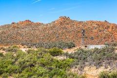 Oranje heuvels stock foto