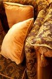 Oranje hoofdkussens Stock Fotografie