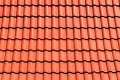Oranje hoogste dakachtergrond royalty-vrije stock afbeelding
