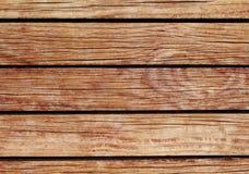 Oranje houten achtergrond Natuurlijke houten textuur met horizontale lijnen Royalty-vrije Stock Foto's