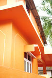 Oranje huis Stock Foto