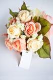 Oranje huwelijksbloem Stock Afbeeldingen
