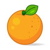 Oranje illustratie Royalty-vrije Stock Foto's